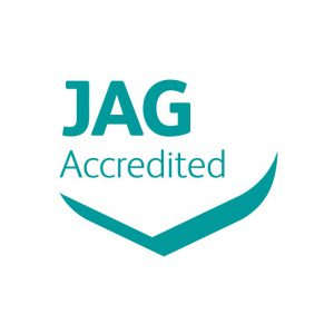 JAG Accredited logo