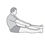 Achilles tendon and plantar fascia stretch exercise
