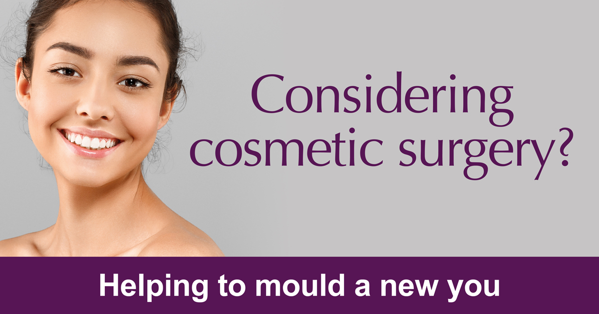 Female cosmetic surgery services at Highgate Private Hospital