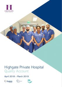 2019 Quality Account for Highgate Private Hospital
