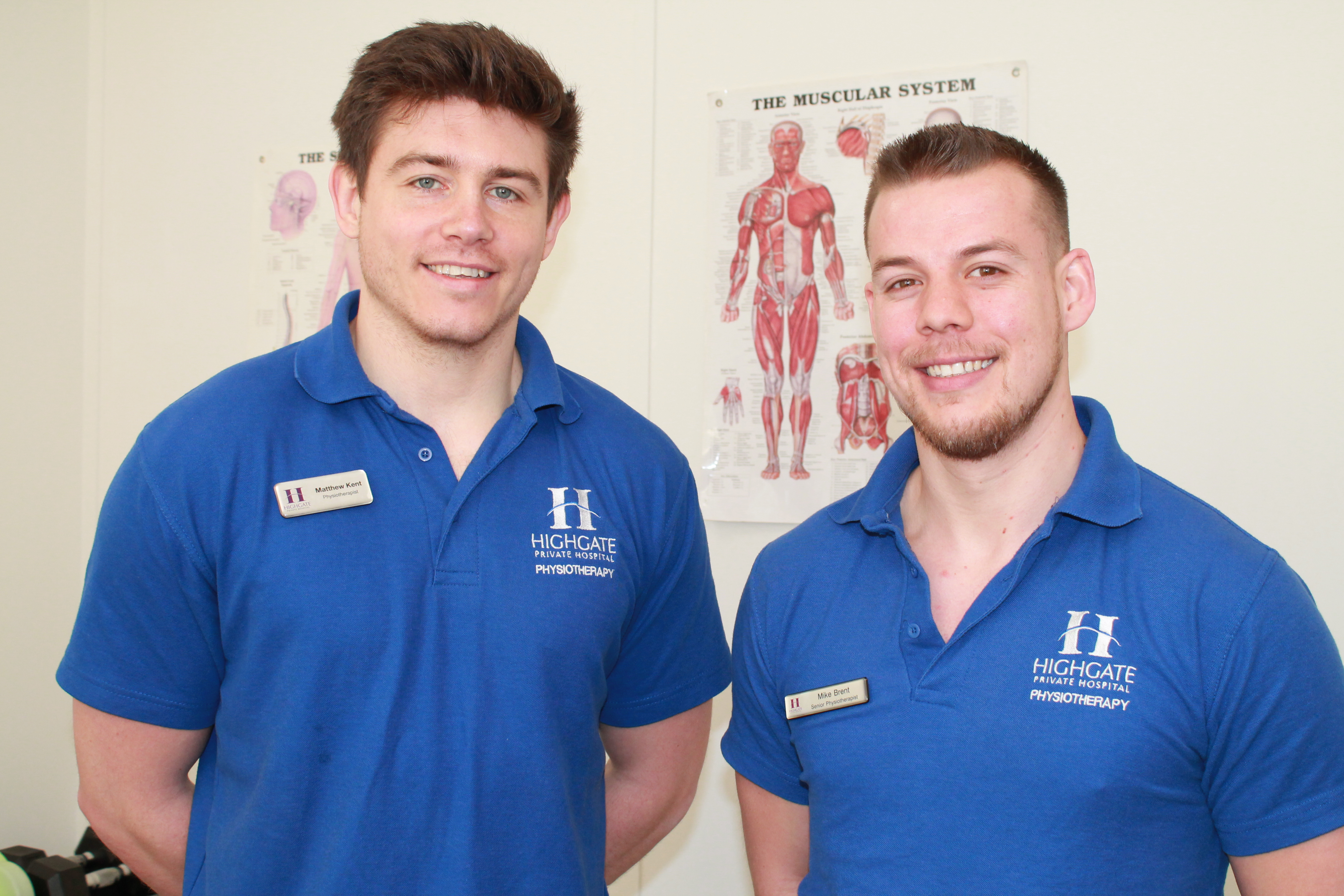 Chartered Physiotherapists at Highgate Private Hospital