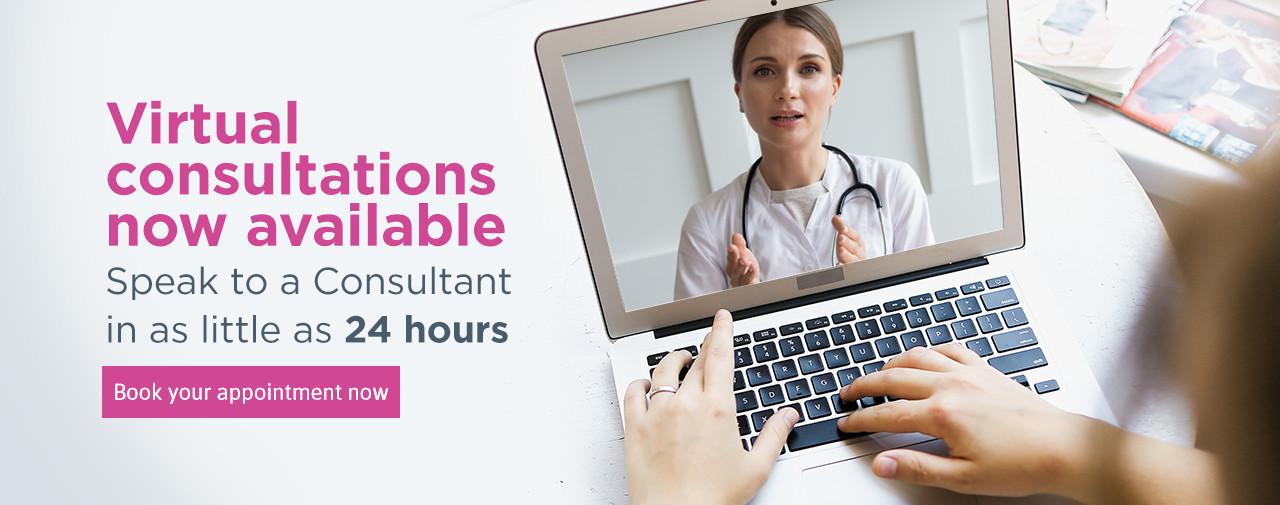 Virtual Consultations Highgate Private Hospital